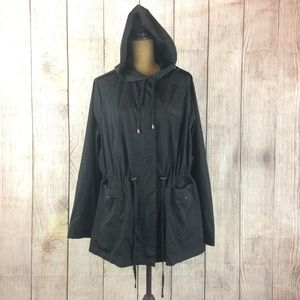 Torrid Hooded Ultra Lightweight Full Zip Jacket 4X